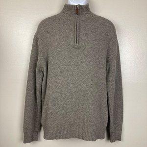J. CREW - L - Zip Up Pullover